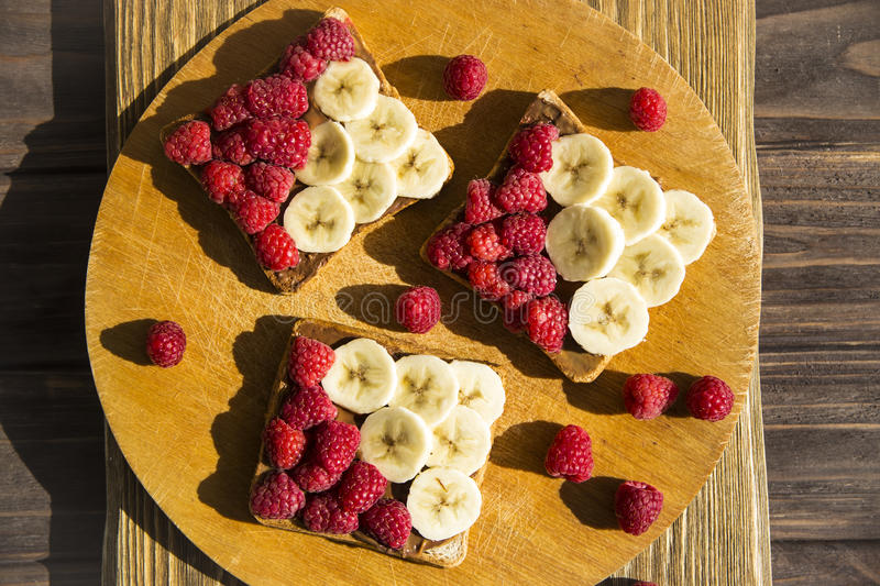 Sweet summer snack for a vegan royalty free stock image