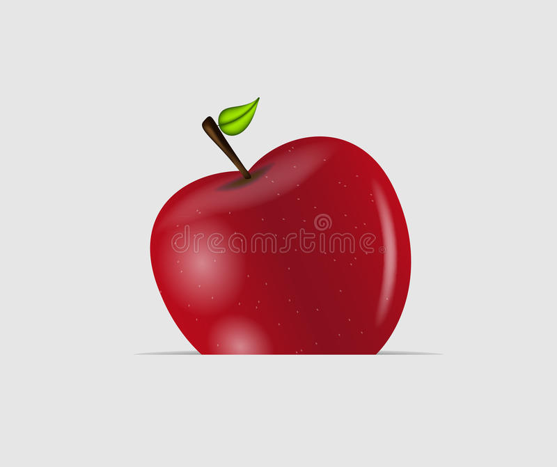 Download Sweet Tasty Apple Vector Illustration Stock Photo - Image: 27915412