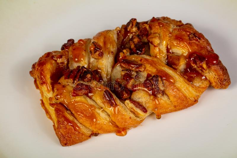 Sweet tasty pastry. With shugar stock photography