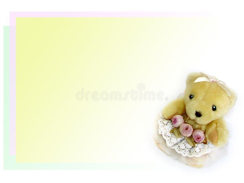 Sweet teddy bear royalty free stock photo