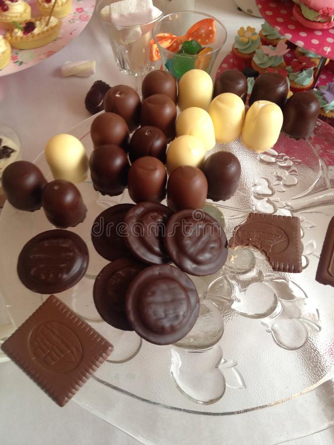 Sweet temptations royalty free stock photography