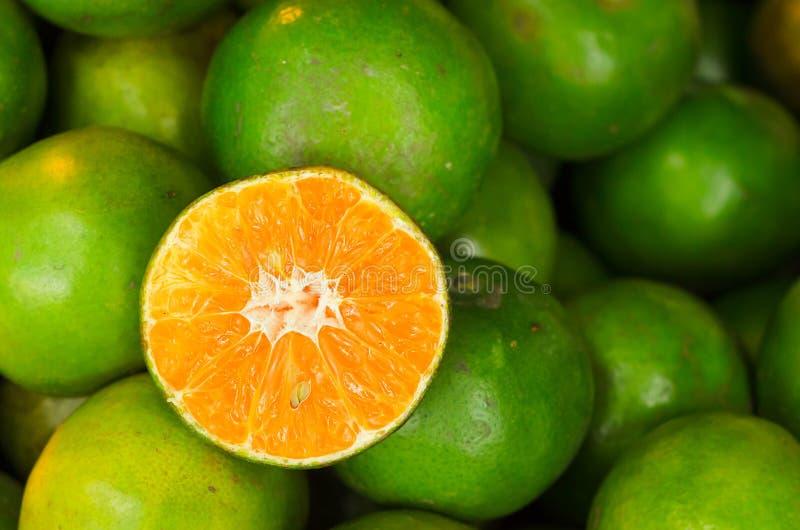 Sweet Thai Oranges royalty free stock photo