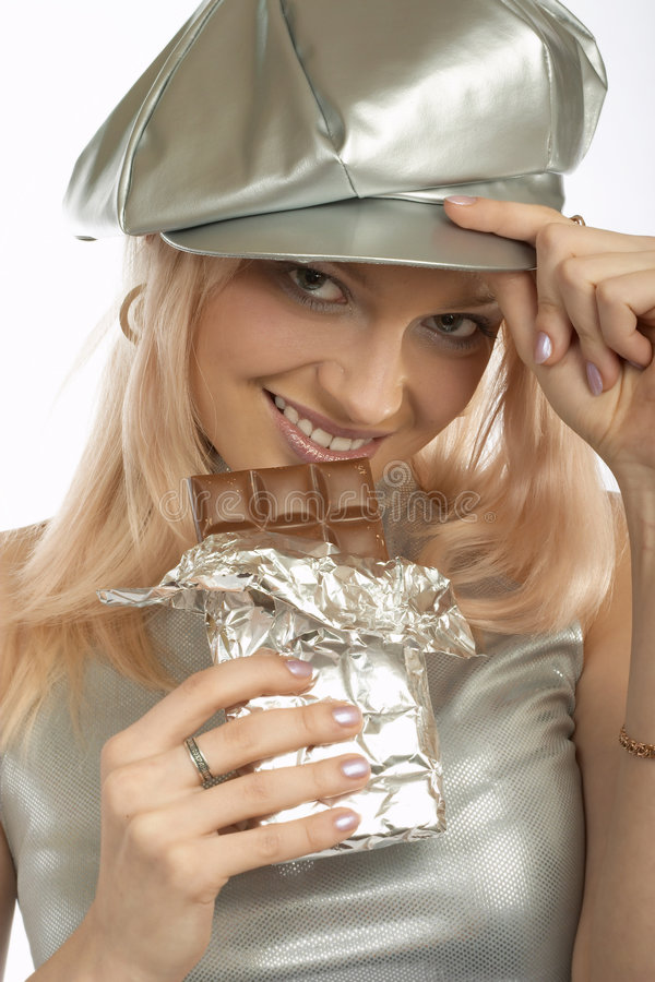 Free Sweet Tooth Woman Stock Image - 378801