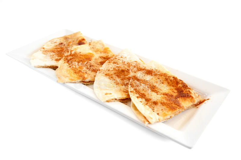 Download Sweet Tortilla Dessert With Cinnamon Stock Photo - Image of food, spanish: 23493770