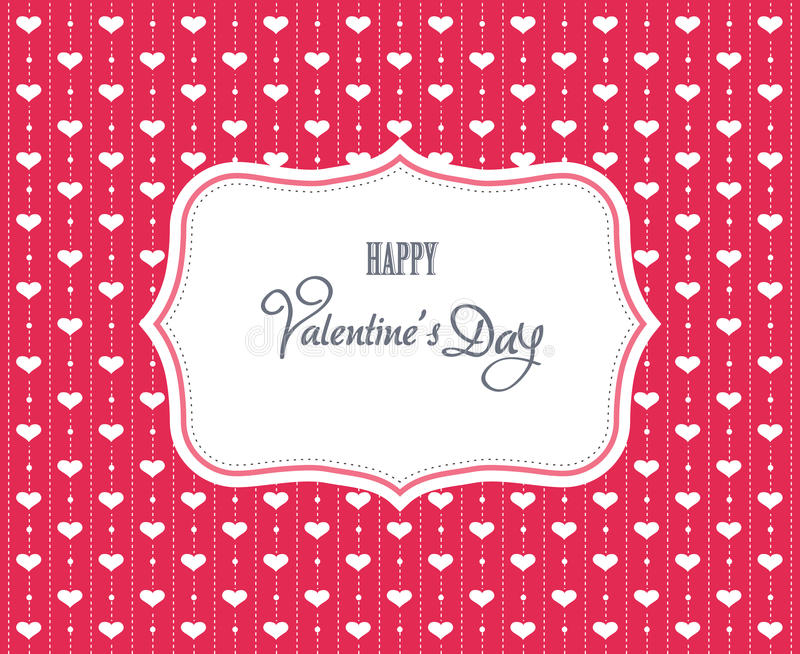 Download Sweet valentine card stock illustration. Illustration of invitation - 28676854