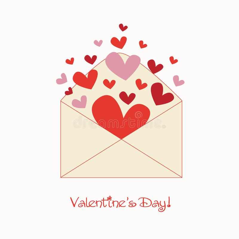 Free Sweet Valentine Letter Royalty Free Stock Photography - 14580857