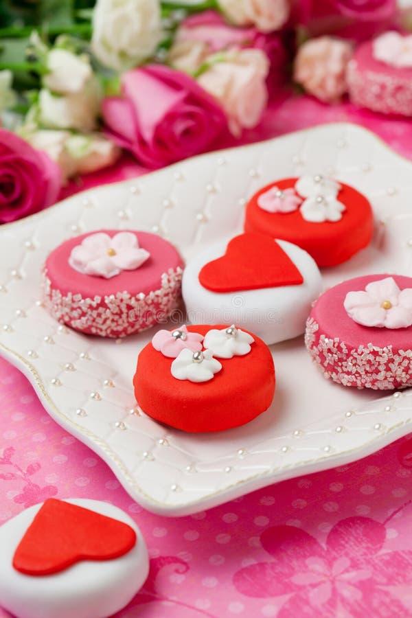 Free Sweet Valentine Petit Fours Stock Photo - 22197190
