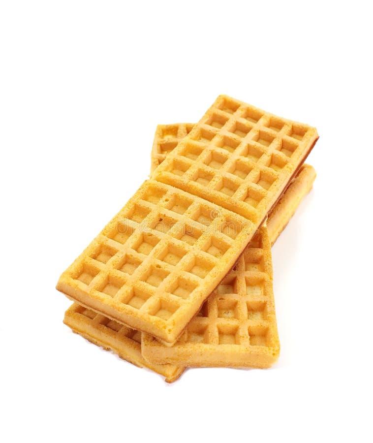 Sweet waffles stock photography