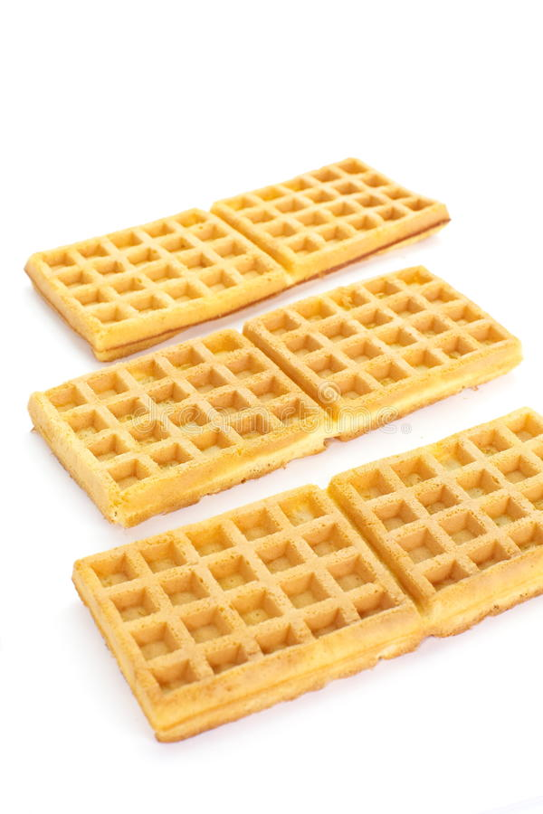 Sweet waffles royalty free stock photography