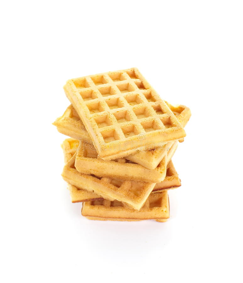 Sweet waffles royalty free stock images