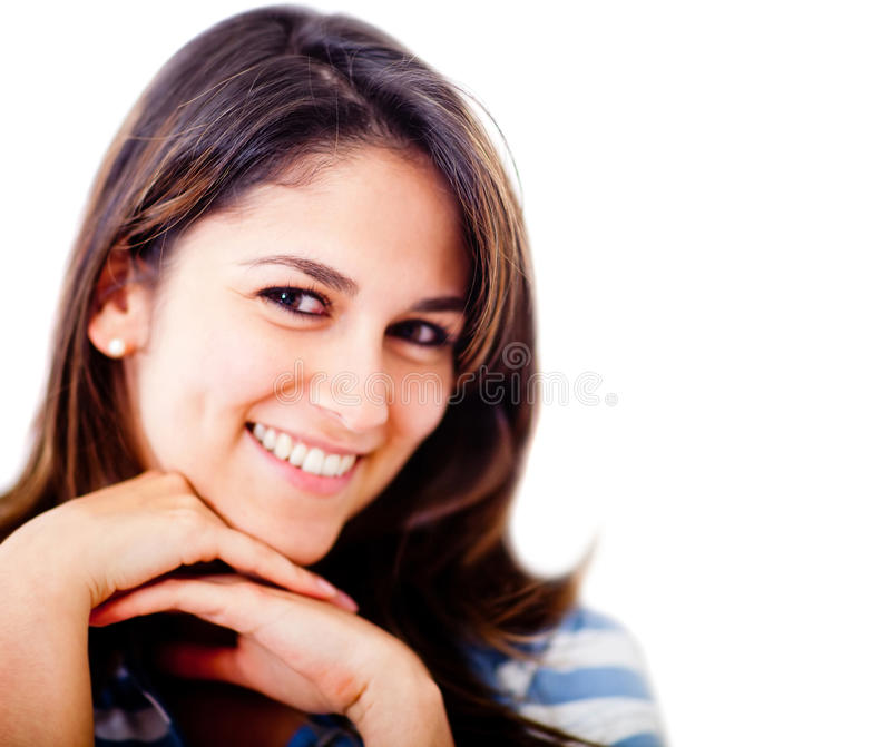 Download Sweet woman portrait stock photo. Image of smiling, smile - 24499044
