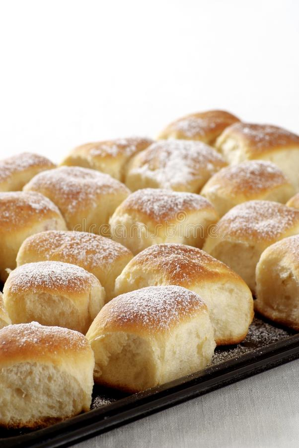 Sweet Yeast Buns Royalty Free Stock Photo