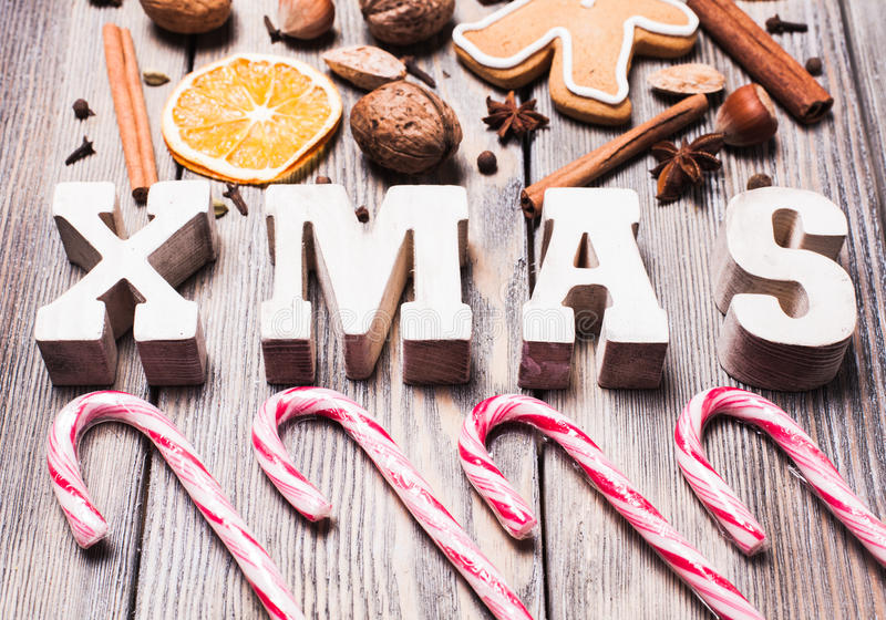 Sweeties do Natal imagem de stock royalty free