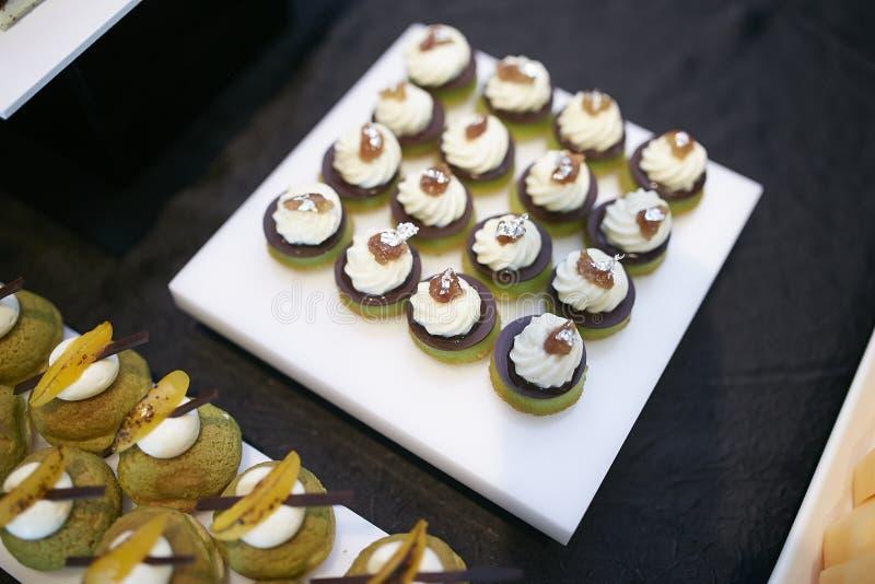 Sweetmeats da sobremesa foto de stock
