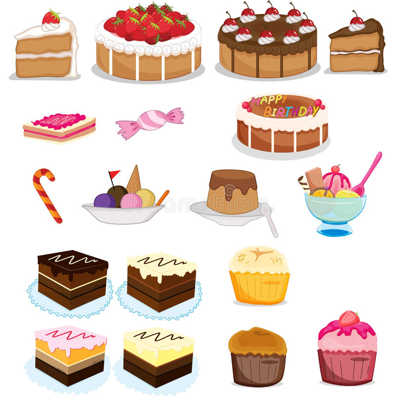 Sweets vector illustration
