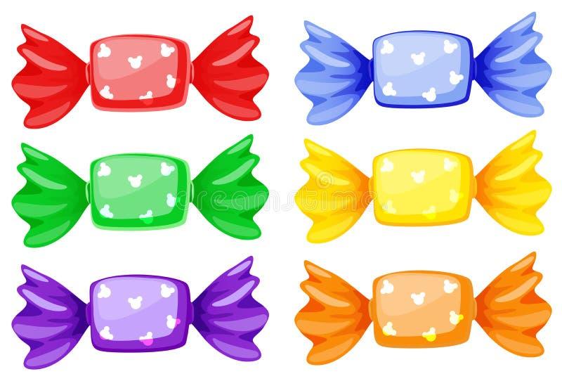 Download Sweets stock illustration. Image of kids, color, shape - 29373521