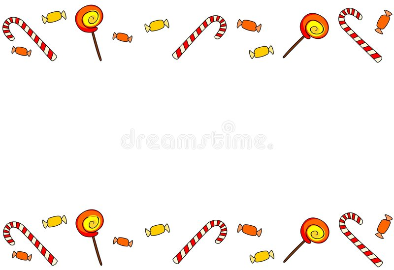 Download Sweets. stock vector. Illustration of goodies, draft, element - 7435077