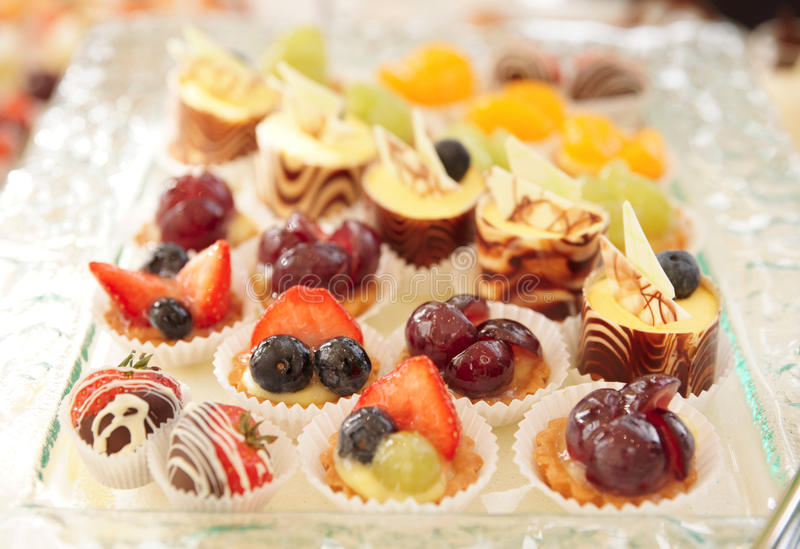 Download Sweets on banquet table stock image. Image of dessert - 18984529