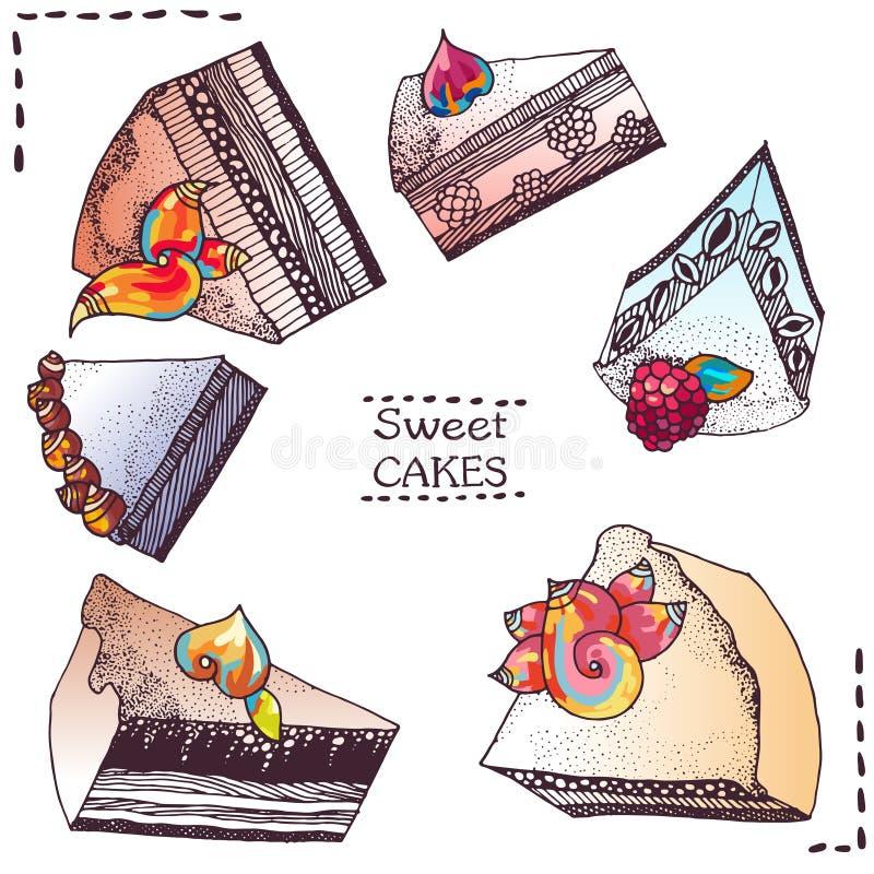 sweets ciastek ilustracji