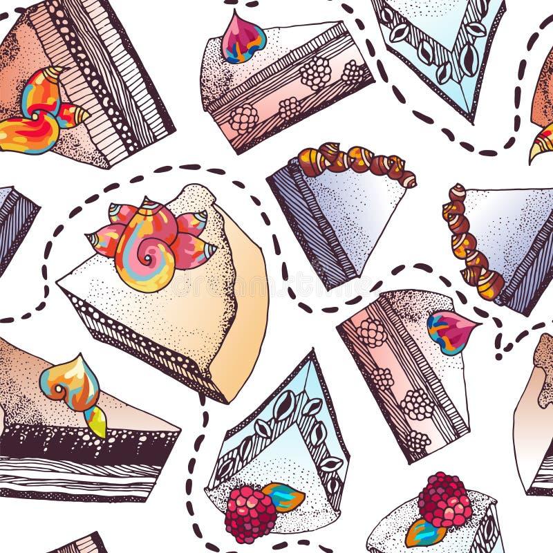 sweets ciastek ilustracja wektor