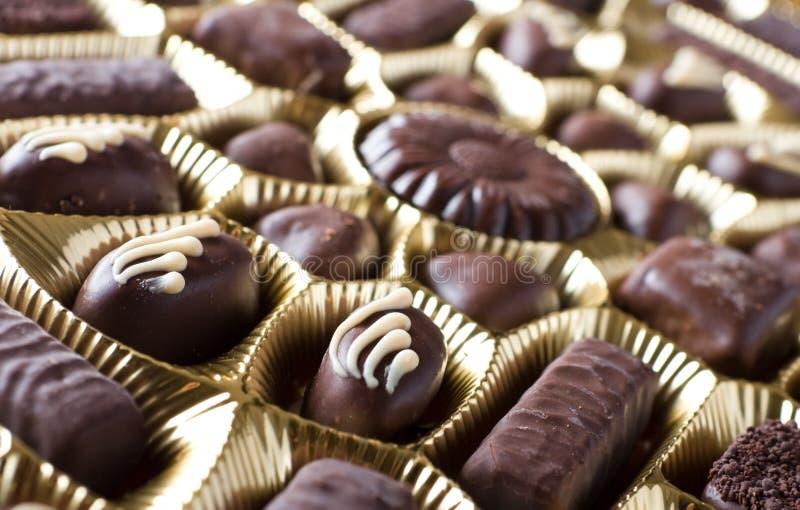 sweets czekoladowych zdjęcia royalty free