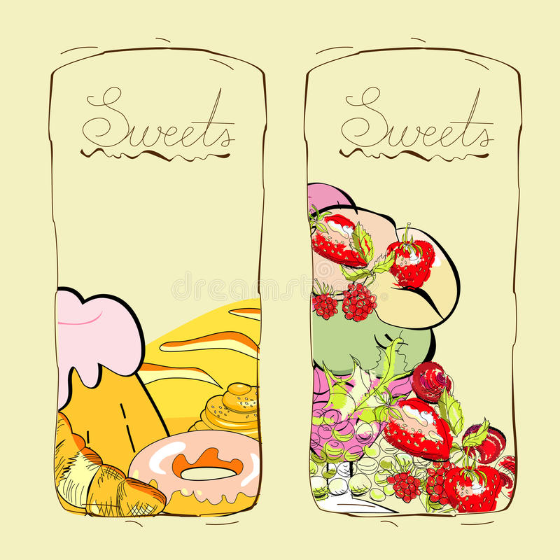 Download Sweets And Fruits Royalty Free Stock Images - Image: 18866479