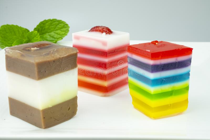 Sweets Jelly candies colorful royalty free stock image