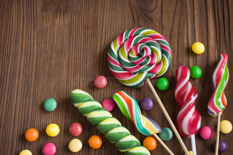 sweets kolor obrazy royalty free