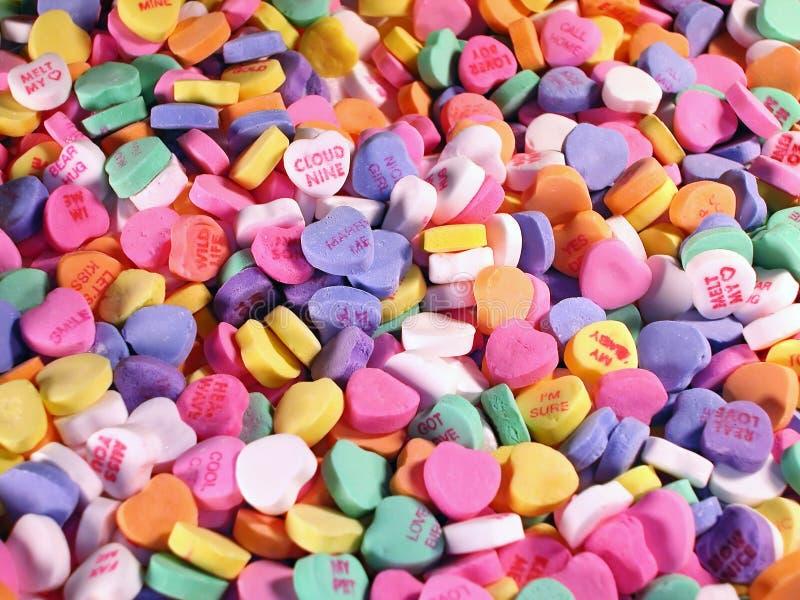 sweets serca w warunkach polowych zdjęcia stock