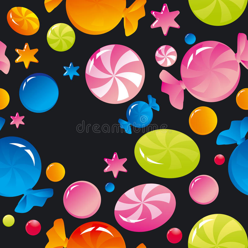 Download Sweets and sugar candies stock vector. Image of sugar - 21992849