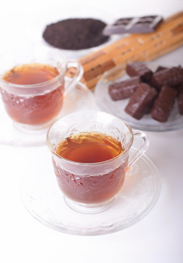 Download Sweets to tea and tea stock image. Image of saucer, pieces - 11773195