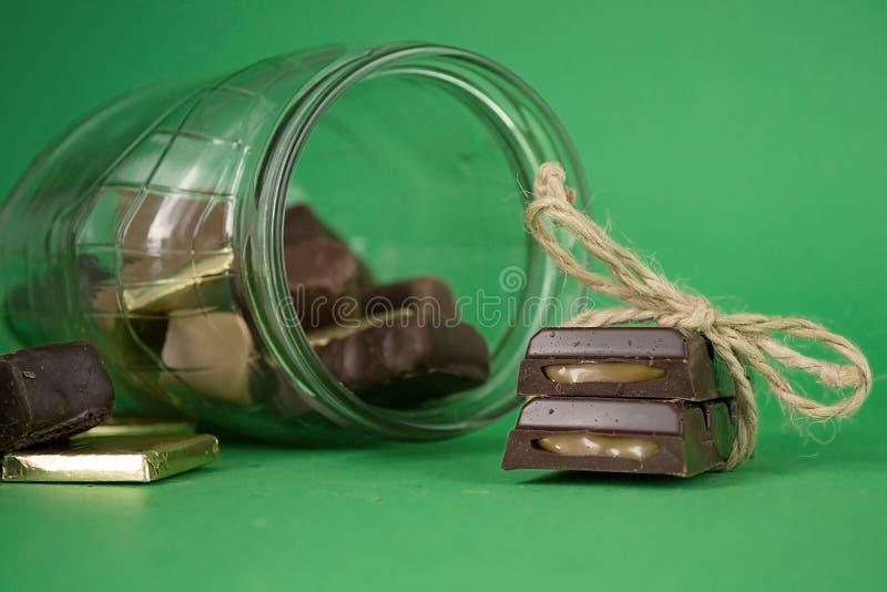 sweets truflowi czekolady odizolowanych fotografia royalty free