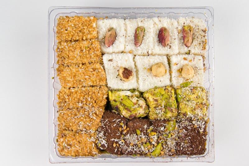 sweets zachwytów tureckich zdjęcia stock