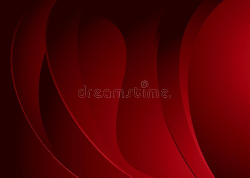 Swell pieno di marrone rossiccio illustrazione di stock