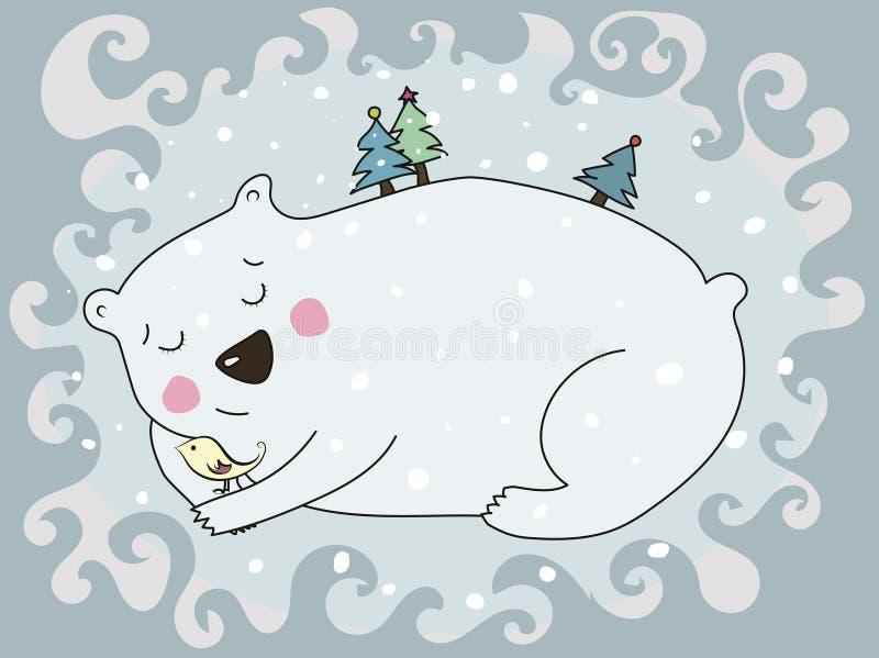 Swetty ijsbeer stock afbeeldingen