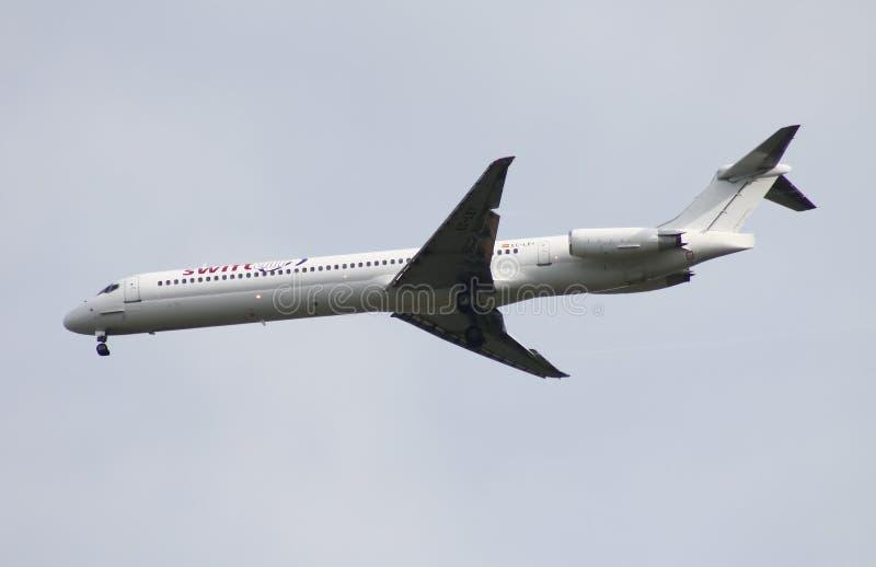 Swiftair Mcdonnell Douglas MD-83 lizenzfreies stockbild
