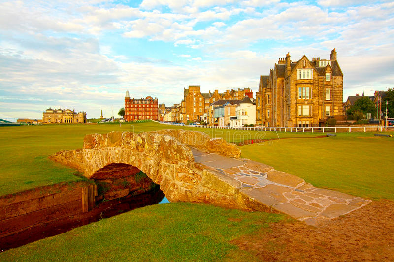 Swilcan Bridge, St Andrews Stock Photos