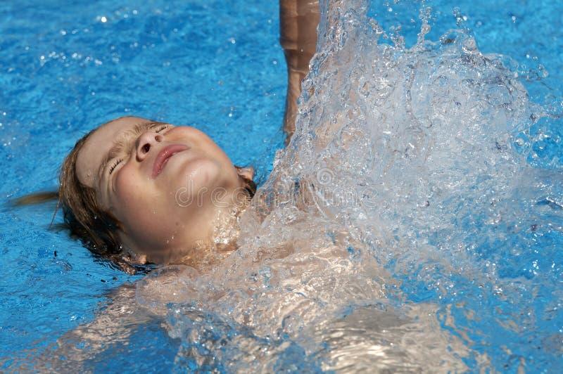 swim лета стоковые фото