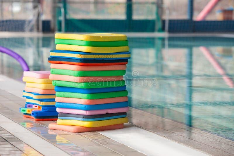 Swim boards stock images