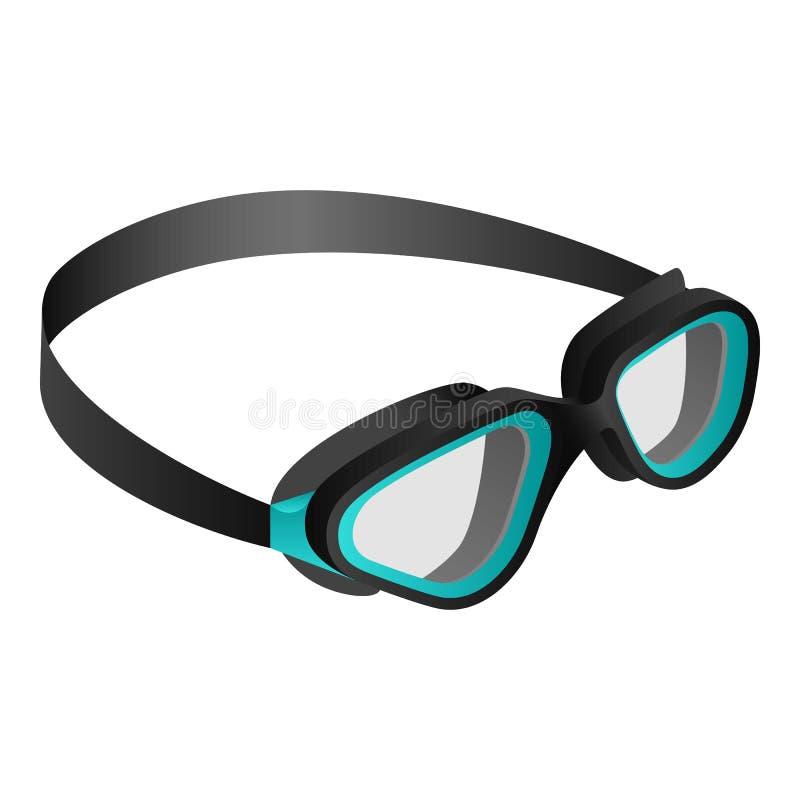 Swimming Goggles Coloring Page - Swim Goggles Clip Art, HD Png ... | 800x800
