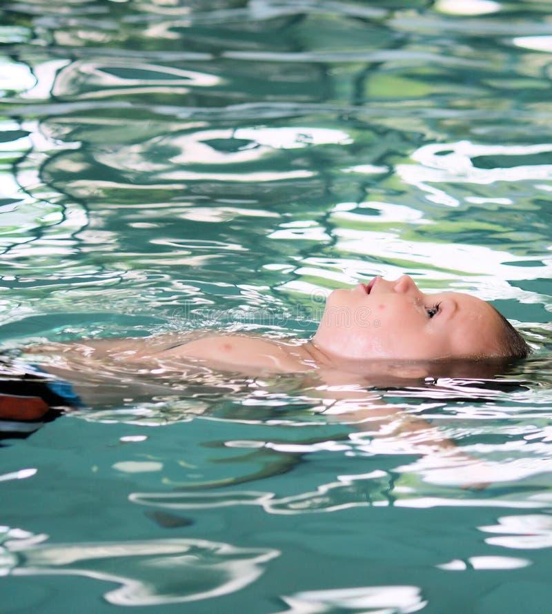 Download Swim lesson infant stock image. Image of toddler, back - 9079687
