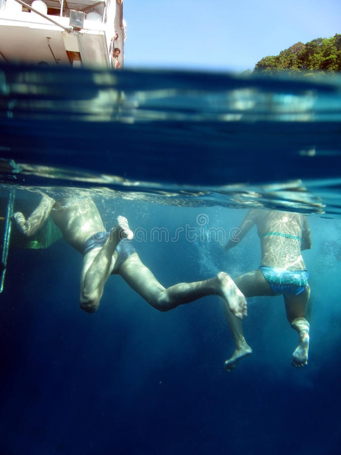 Download Swim in the ocean stock photo. Image of similan, holidays - 24278198