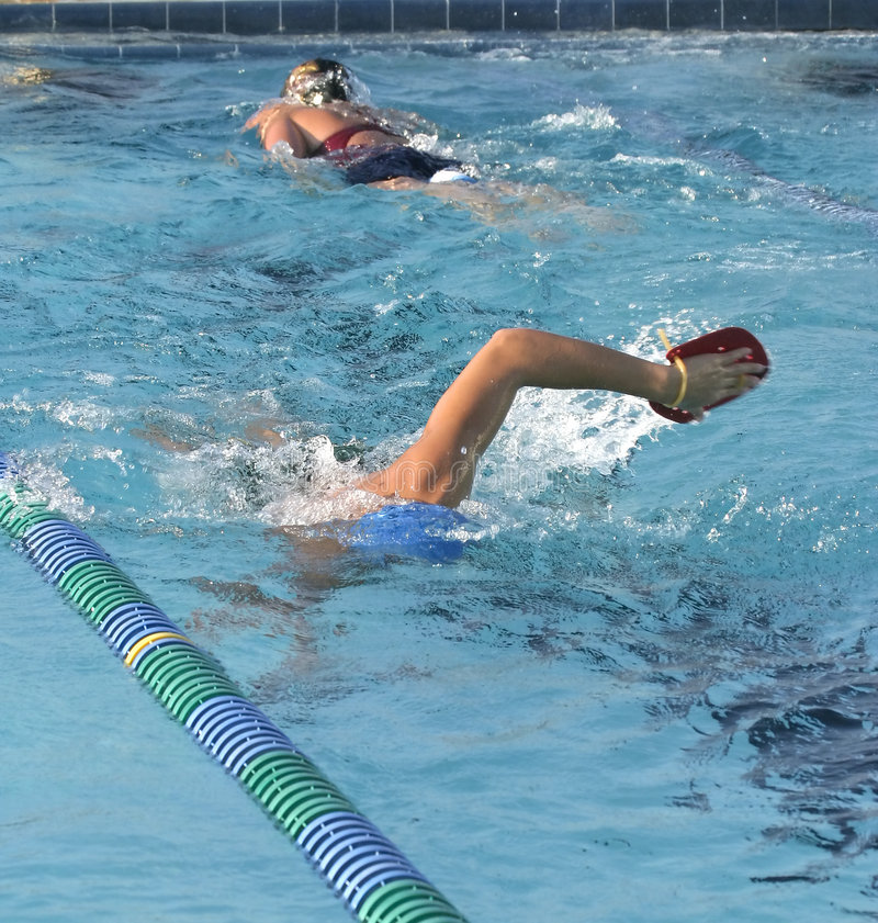Download Swim Practice stock image. Image of swimmer, stroke, competition - 256293