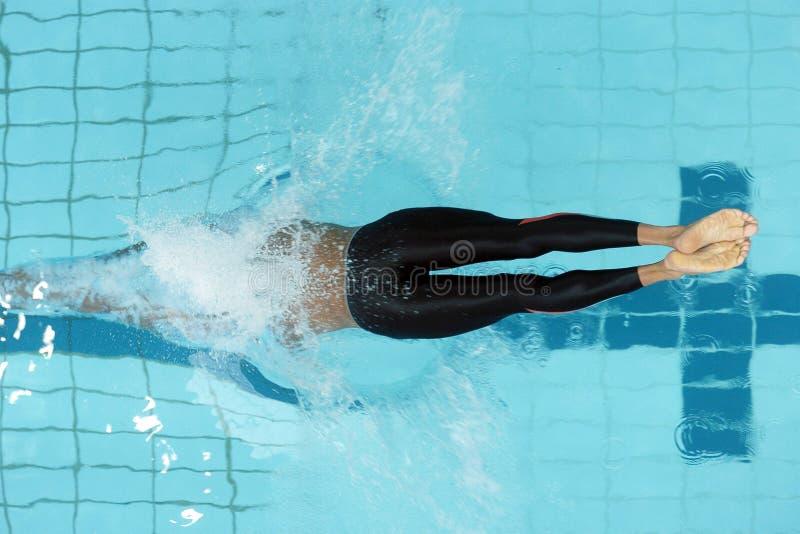 Download Swim start 01 stock image. Image of swimming, feet, diving - 1961275