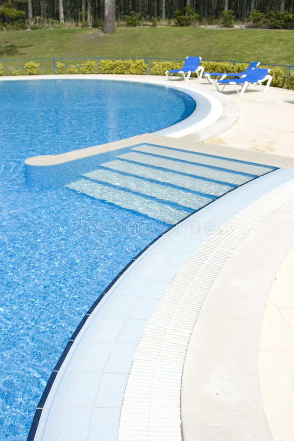 Download Swiming Pool stock photo. Image of cool, light, estate - 4352400
