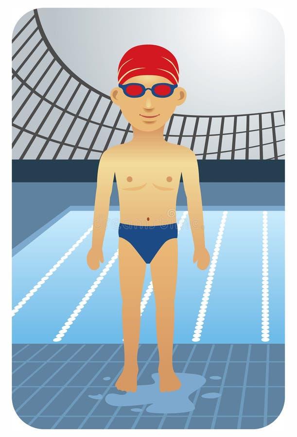 Download Swimmer stock vector. Illustration of design, sports - 10179984
