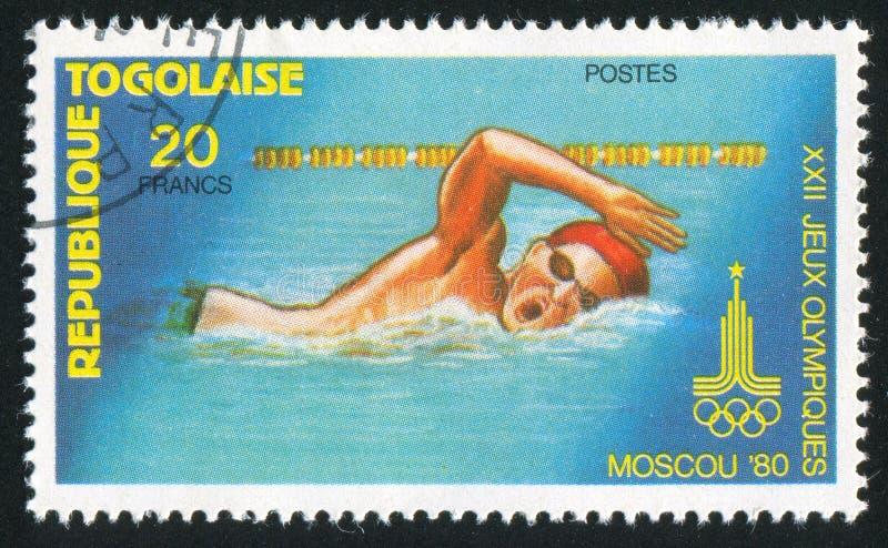 swimmer foto de stock royalty free