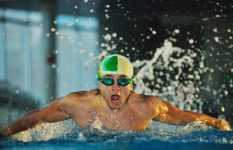 Download Swimmer stock photo. Image of pool, fitness, athlete - 12510218