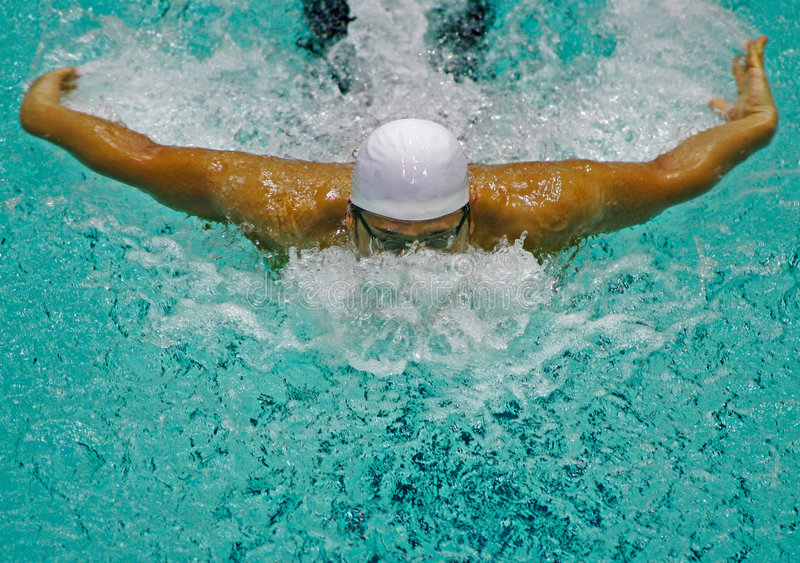 Download Swimmer stock photo. Image of adolescence, starting, action - 2102108
