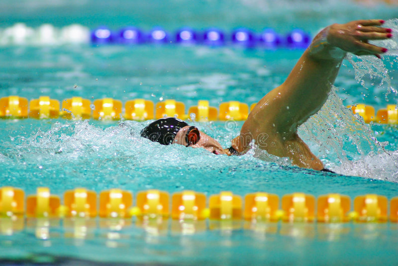 Download Swimmer stock photo. Image of swimmer, competitive, fast - 2102152